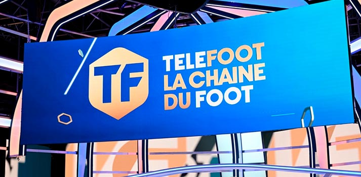 Telefoot: canal francés cuya imagen corporativa ha sido diseñada por wTVision