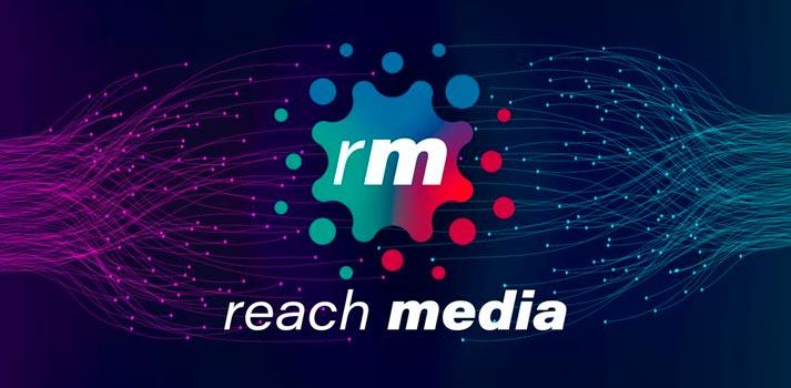 Logotipo de la nueva iniciativa transmedia Reach Media
