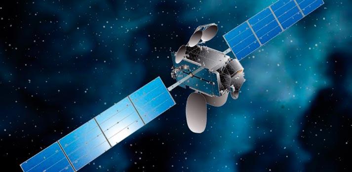 Render de un satélite de Hispasat