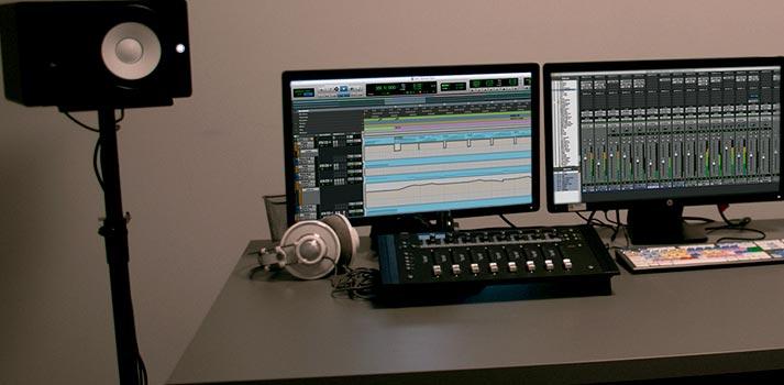 Sala de postproducción de sonido