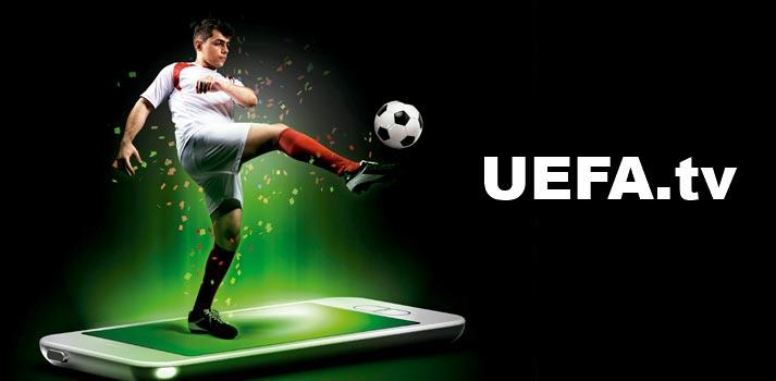 Imagen conceptual de UEFA.tv