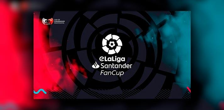 Imagen promocional de la nueva competición producida por la LVP eLaLiga Santander Fan Cup