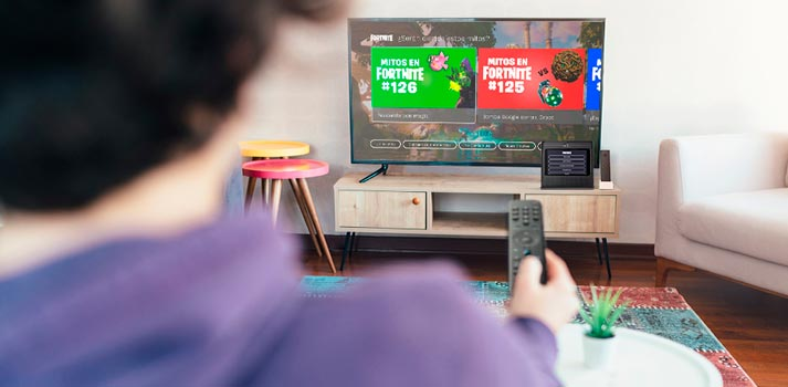 Integración de la Living App de Fortnite en Movistar+