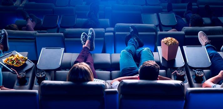 Salas de cine de Cinesa deluxe