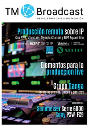 Producción remota sobre IP en TM Broadcast