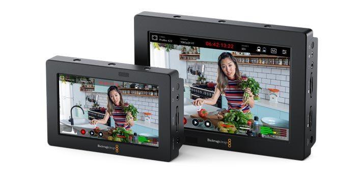 Imagen promocional de los Blackmagic Video Assist 3G de Blackmagic Design