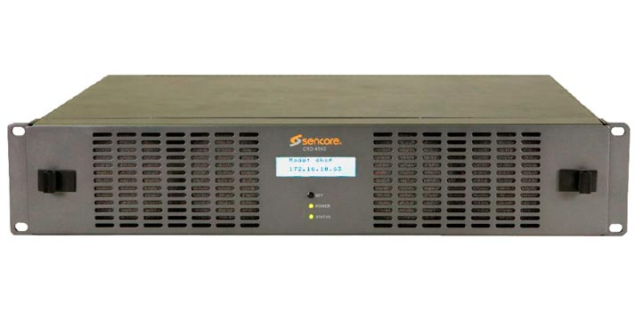 Solución CRD 4900 de Sencore