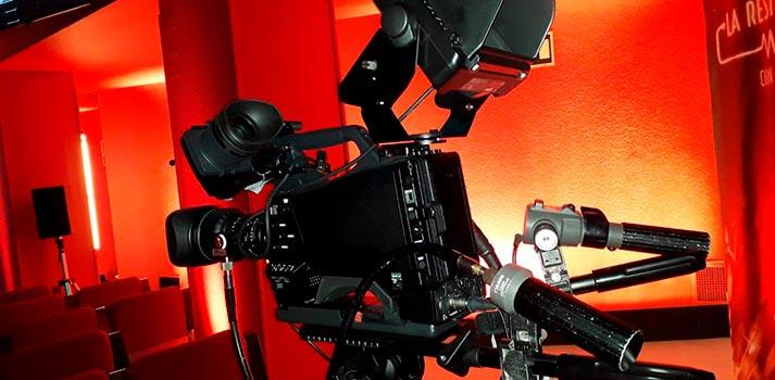 Cámara HXC-FB80 de Sony implementada en el plató de La Resistencia