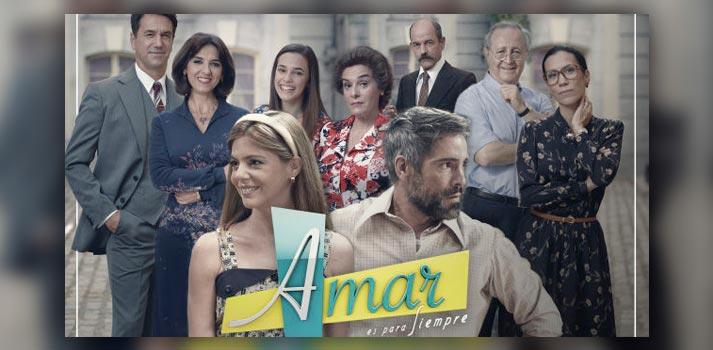 Imagen promocional de la novena temporada de Amar es para siempre (Atresmedia)