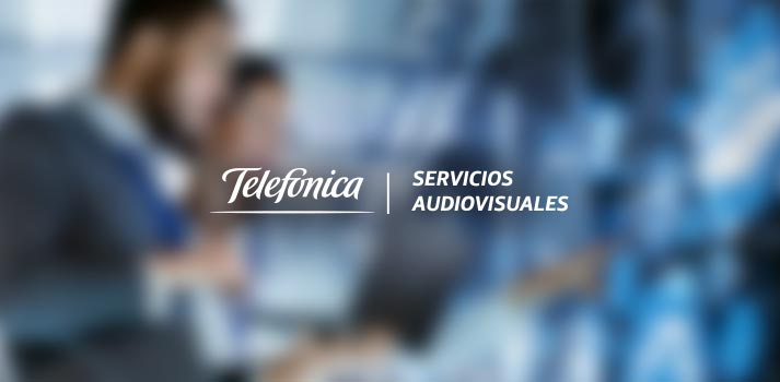 Logotipo de Telefónica Servicios Audiovisuales