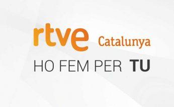 Logo y eslogan de RTVE en Catalunya