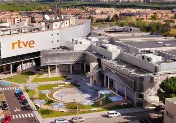 Sede de Televisión Española en Prado del Rey