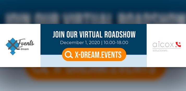 Virtual Roadshow - Convocatoria España liderada por Aicox y X-Events