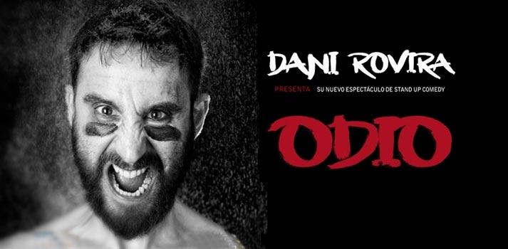 """Imagen promocional de """"Odio de Dani Rovira"""", un especial de Netflix"""