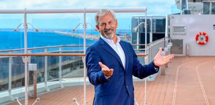 Carlos Sobera, presentador de First Dates Cruceros