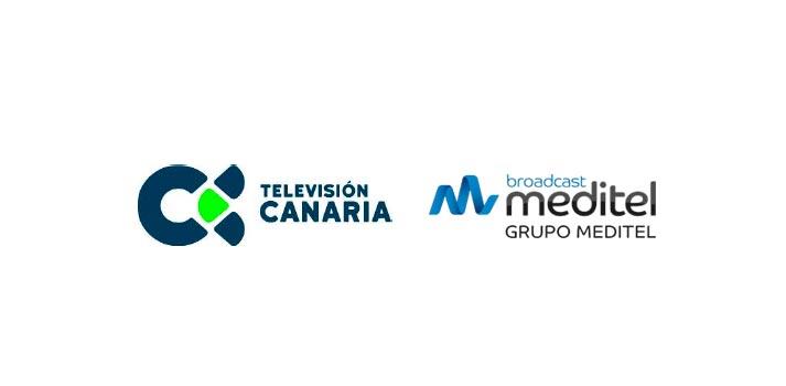 Logo de Televisión Canaria y Grupo Meditel