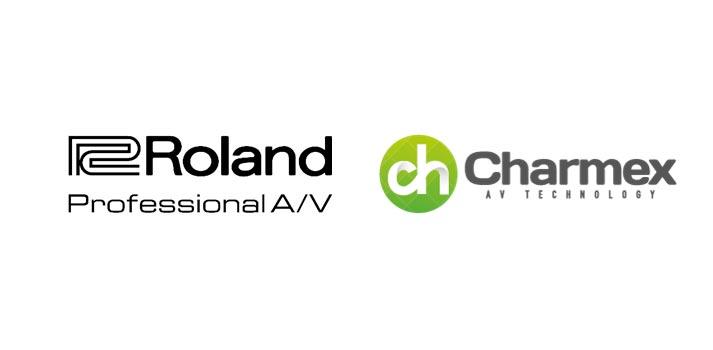 Logotipos de Roland y Charmex