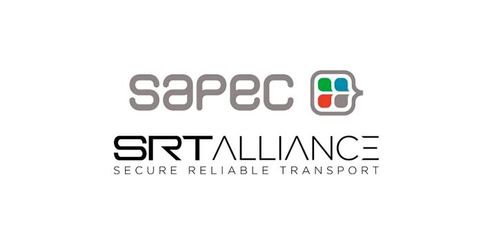 Logos de Sapec y SRT Alliance