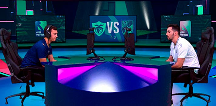 Plató virtual de esports - Mediapro - Medialuso