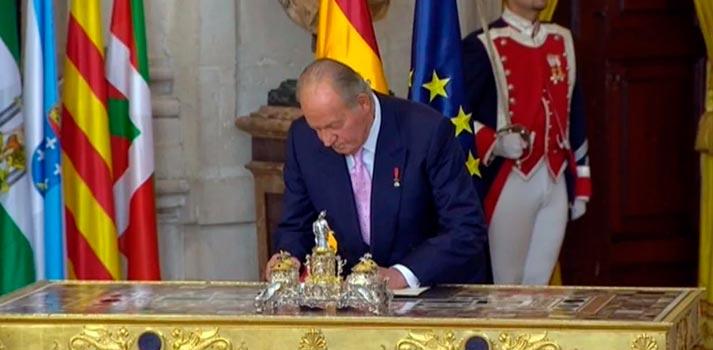 Imagen de archivo del Rey Juan Carlos I