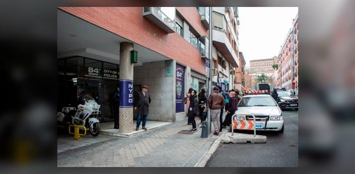 "Rodaje de la serie ""Soulmates"" de AMC Networks en Madrid"