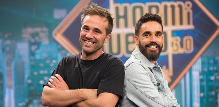 Pablo Palomo (izq.) y David Fernández (der.), responsables técnicos de El Hormiguero 3.0