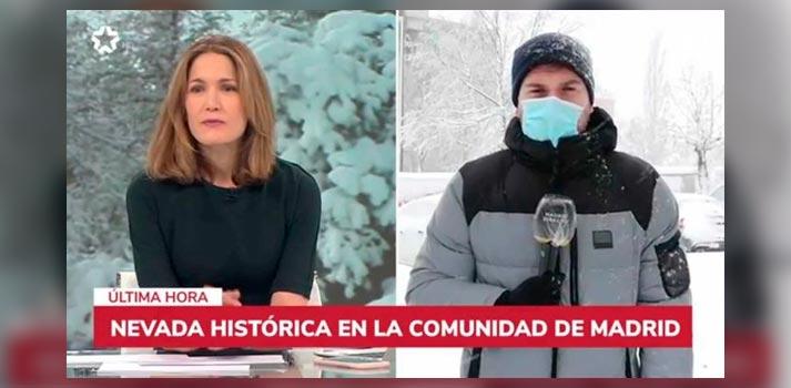 Cobertura de 'Filomena', tormenta de nieve - Telemadrid