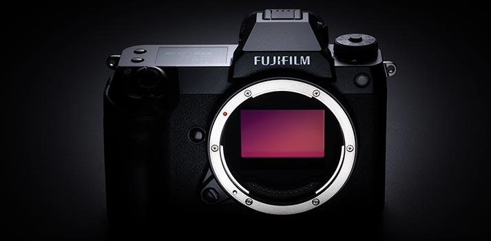 Cuerpo de la cámara Fujifilm GFX100S