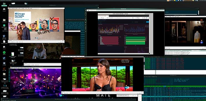 Interfaz de usuario del Proyecto 5G MEC Ultra Video Server