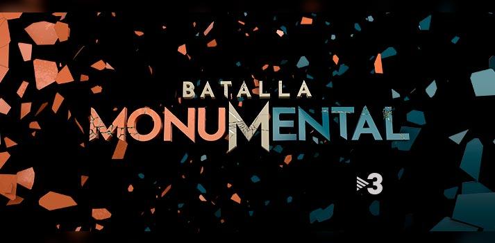 """Logotipo del nuevo formato de TV3 """"Batalla Monumental"""""""