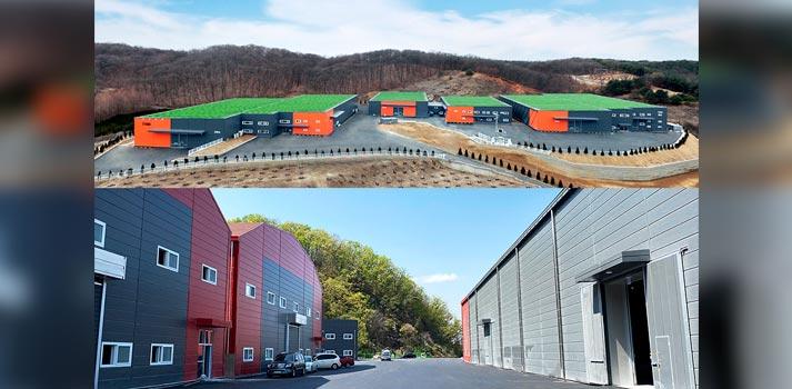 Imágenes de los dos nuevos centros de producción que Netflix explotará en Corea del Sur