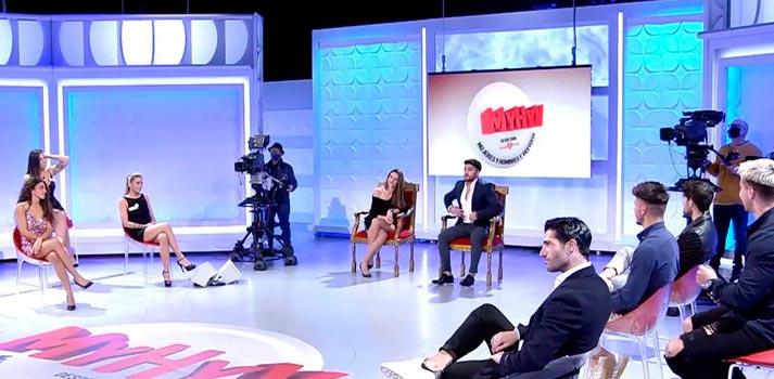 Rodaje de Mujeres y Hombres y Viceversa, formato ofrecido por Mediaset España