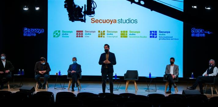Presentación de Secuoya Studios con sus divisiones