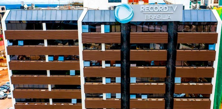 Instalaciones de Record TV en Brasil