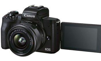 Cámara para creadores de contenido Canon EOS M50 Mark II