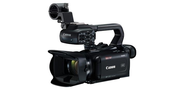 Vista en perspectiva de la Canon XA45