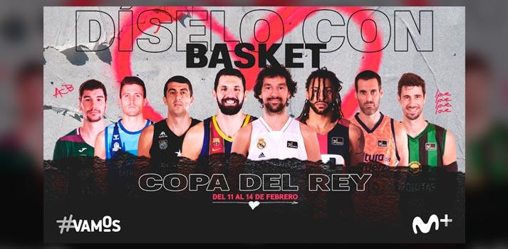 Copa del Rey de Baloncesto 2021 - Cartel Promocional - Movistar+