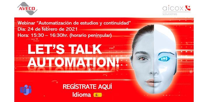 webinar de Aicox Soluciones (Febrero 2021) - Imagen promocional