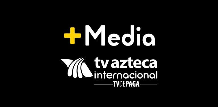 Logotipos de Masmedia TV y TV Azteca Internacional