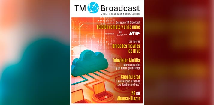 Portada de la revista 139 de TM Broadcast