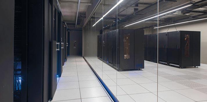 Sala de máquinas - técnica en una de las ubicaciónes de la televisión Telefe en Argentina