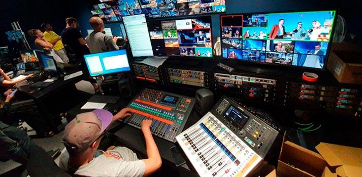 Canal de televisión Odessa Live - Sala de control