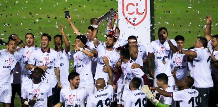 Celebración victoria competición Concacaf