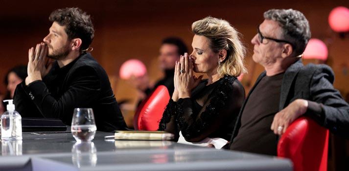 Talent show 'Prodigios' de RTVE - Jurado en una gala