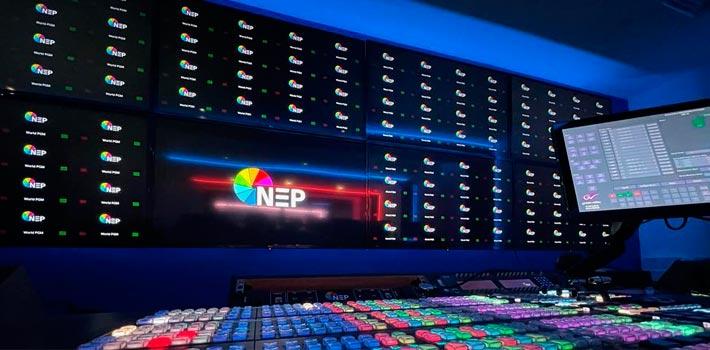 Centro de producción de NEP en Londres