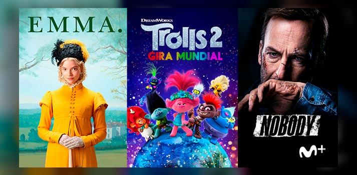 Una selección de las películas que llegarán a Movistar+ gracias al acuerdo con NBCUniversal