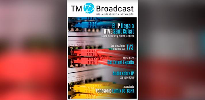 Portada de TM Broadcast 140