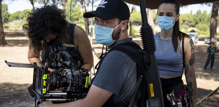 Rodaje del cortometraje 'Nacional 106' con la cámara Canon C500 MII - Exterior - 2
