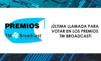 Votación Premios TM Broadcast