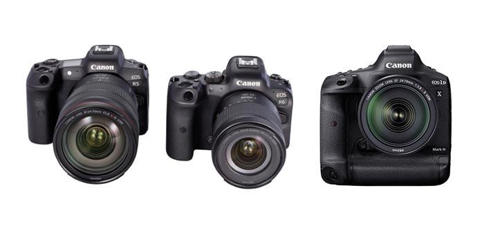 Canon actualiza el firmware de tres de sus cámaras